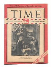 Time Magazine Pacific Pony Ed. Dec 24, 1945. The Christmas Event. WWII.