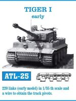 FRIULMODEL ATL-25 1:35 WWII German Tiger I Early (220 Links) Metal Track Kit