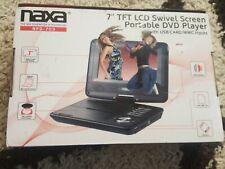 "NAXA NPD-703 Tabletop 7"" Black portable DVD Player- NPD703"