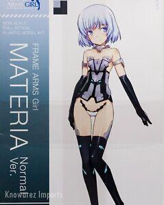 Kotobukiya Frame Arms Girl Materia - Normal version Model kit