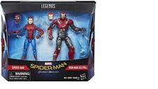 Hasbro Original SpiderMan Marvel Legends Spider-Man and Iron Man Action 2Pack