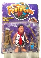 Mattel THE FLINTSTONES BIG SHOT FRED 1993 MOC Action Figure