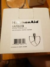 KitchenAid Mixer Beater Paddle Flat Gray Coated Attachment - 6 inches tall