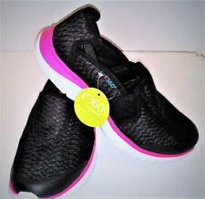 Women's EASY SPIRIT Esmyles E360 Black/Pink Slip On Shoes sz 8.5M FREE SHIP