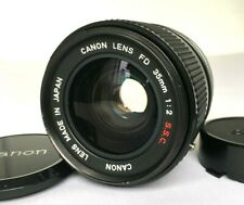 FedEx 【NEAR MINT】 Canon FD 35mm f/2 S.S.C. SSC Wide Angle MF Lens from Japan 626