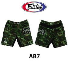 Fairtex Ab7 Camouflage Theme Nylon Board Shorts Muay Thai Kick Boxing Mma Ufc K1