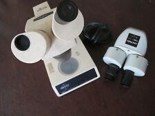 Swift Instruments Stereo Eighty Microscope And Unitron Fsb 1x 2x Microscope Head