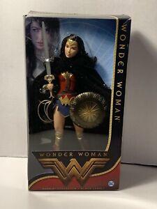 Barbie DC Black Label Collector Wonder Woman Doll Batman Superman DAMAGED BOX136