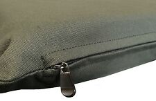 "Durable Green Canvas 100% Cotton Fabric Pet Dog Bed Cover - 47""x29"" Flat Style"