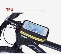 Waterproof/Reflective Frame Front Tube Bicycle Bag Bike TPU Mobile Phone Case