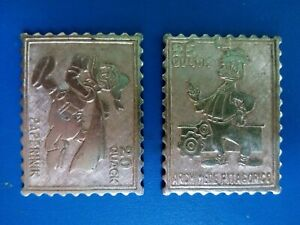 Topolino club  Disney italian badge pin signo METAL STAMP