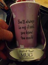 Special Friend Keepsake Mug Angels At Heart bnib Gift Present Christmas Birthday