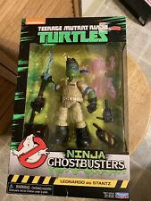 2017 Playmates Tmnt Ghostbusters Leo As Stantz New Sealed