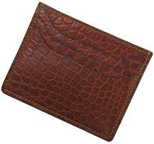 RIOS1931 for Panatime Cognac Premium Genuine Alligator Wallet
