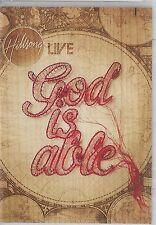 Hillsong Live-God Is Able DVD Christian Praise/Worship 2 Bonus Songs(New Sealed)