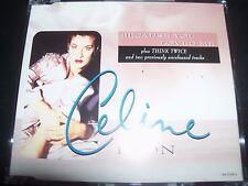 Celine Dion Because You Loved Me CD Single
