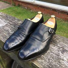 Edward Green Black Single Monk Size 10.5/11E - 888 Last