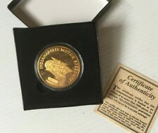 2001 Indianapolis 500 Bronze Pace Car & Event Collector Coin Limited Edition MIB