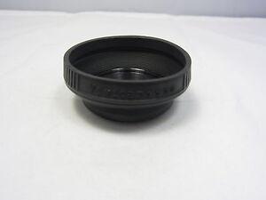 Used VIVITAR 55mm Collapsible Rubber Screw in Lens Hood N102042