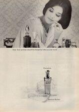 1964 Madame Rochas Perfume Vintage Bottle PRINT AD