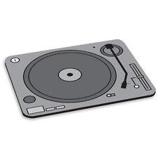 Platine Tourne-disque DJ DECKS Tapis De Souris PC Ordinateur - Gris Noir