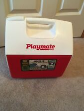 Igloo Playmate Pal TEXAS MADE 7 QT 6L Personal Sized Cooler Red White STAY COOL