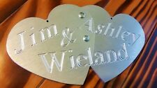 2 Hearts Become 1 Best Unity Wedding Idea. Unique Alternative To Candle Engraved