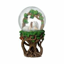 More details for nemesis now anne stokes pure heart snowglobe (as) 18cm b4074m8
