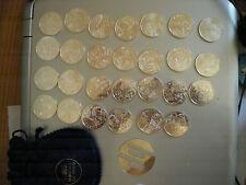 27 piéces des euros des région 2012