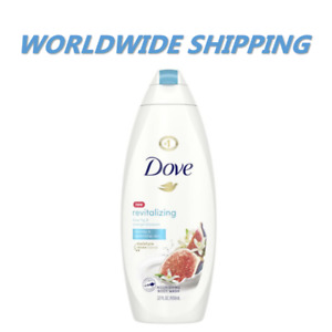 Dove Revitalizing Blue Fig & Orange Blossom Scent Body Wash 22Oz FREE WORLD SHIP