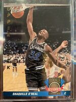 1992-93 Upper Deck Shaquille O'Neal Rookie Standout Orlando Magic