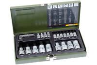 Proxxon 23102 Außen Torx Nüsse 23-tlg Innentorx Steckschlüssel Satz Werkzeug Set