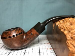 R. Martin Litchborough Hand Made Snubby Rhodesian Estate Pipe Good No Reserve!