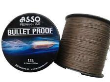 Asso Peau dure 2 x Bobines Ultra Carpe Fishingline 12 abrasion Résistance Orange 0 26 mm - 4.1kg