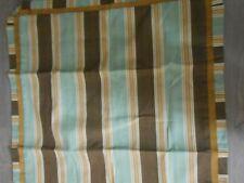Waverly Willamsburg new Euro pillow sham stripe ribbon detail