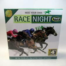 Host Your Own Race Night - DVD Game - Cheatwell Games - Unopened Box 4th Edition