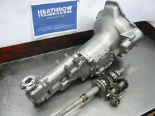 MORRIS MINOR SMOOTH CASE REMANUFACTURED GEARBOX STRONGER 1098 GEARTRAIN FITTED