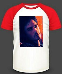Mens t-shirt SMALL Damon Salvatore My Artwork The Vampire Diaries Unisex Woman