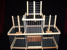Cage for Hunting : : Cage Trap Cage with 3 Traps for birds