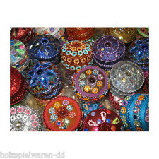 Amanda 698035 Glitter Box Different Assorted approx. 4,5 x 3 cm Tooth NEW! #