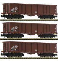 "Fleischmann N 828347 Güterwagen-Set ""Bauart Eas"" der DR ""Neuheit 2019"" NEU + OVP"