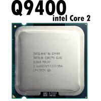 Intel Core 2 Quad Q9400 2.6 GHz Quad-Core CPU Processor 6M 95W 1333 LGA 775 45nm