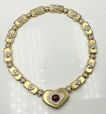 Harry winston fine diamond necklaces pendants ebay ladies 18ky gold designer harry winston diamond ruby necklace 14 58 short size aloadofball Images