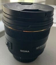 Sigma DG 50mm f/1.4 HSM DG EX ASP Lens For Canon with Hoya CP filter (77 mm)
