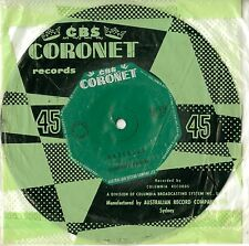 "STONEWALL JACKSON - WATERLOO - 7"" Vinyl Single AUSTRALIAN Excellent+"
