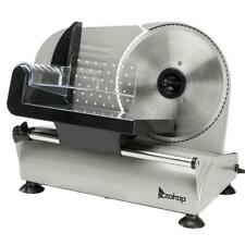 "Zokop 7.5"" Commercial Meat Slicer Deli Veggie Cheese Food Cutter Kitchen Steel"