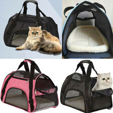 Travel Approved Pet Carrier Soft Sided Large Cat Dog Comfort Bag For 5KG Pet