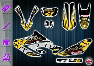 YAMAHA WR125R STICKERS - WR GRAPHICS KIT WR125 R DECALS - WR125R GRAPHICS KIT