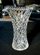 Beautiful Heavy Crystal Vintage Vase