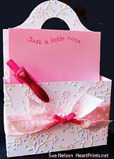 Sizzix Bigz XL Caddy Bag die #657123 Retail $39.99 CRAFTER'S MUST HAVE